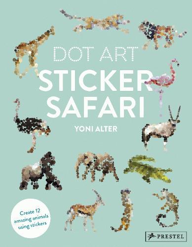 Dot Art Sticker Safari (Paperback)