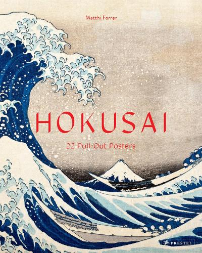 Hokusai: 22 Pull-Out Posters (Paperback)
