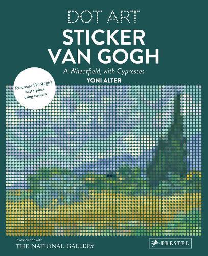 Sticker Van Gogh: Dot Art (Paperback)