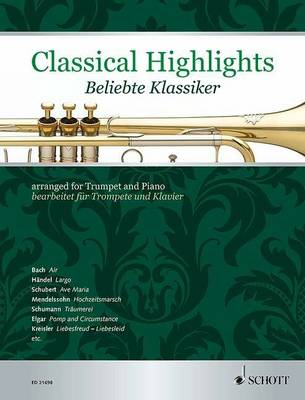 Classical Highlights: arranged for Trumpet and Piano - Classical Highlights (Sheet music)