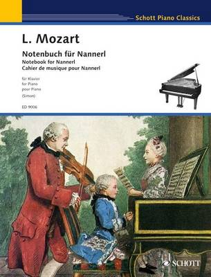 Notebook for Nannerl - Schott Piano Classics (Paperback)