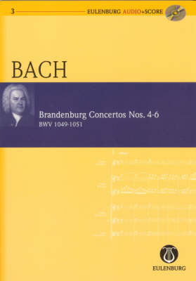 Brandenburg Concertos Nos. 4-6 Bwv 1049-1051 - Eulenburg Audio+Score 3