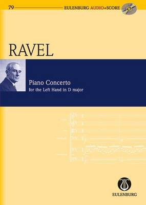 Piano Concerto for the Left Hand D Major: Study Score + CD - Eulenburg Audio+Score