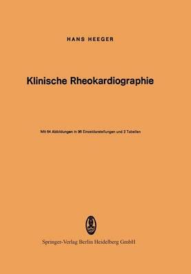 Klinische Rheokardiographie (Paperback)