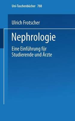 Nephrologie - Universitatstaschenbucher 788 (Paperback)