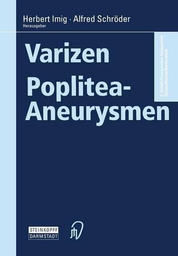 Varizen . Poplitea-Aneurysmen (Paperback)