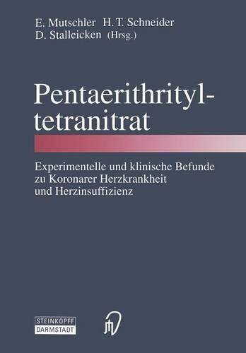 Pentaerithrityltetranitrat (Paperback)