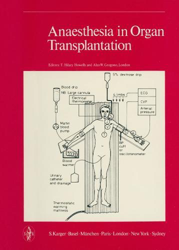 Anaesthesia in Organ Transplantation (Hardback)