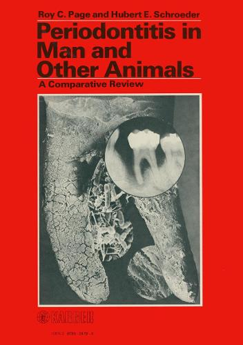 Periodontitis in Man and Other Animals (Hardback)