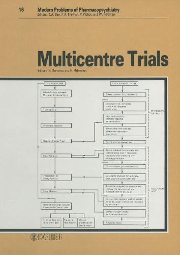 Multicentre Trials - Modern Trends in Pharmacopsychiatry 16 (Hardback)