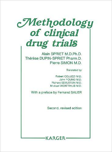 Methodology of Clinical Drug Trials (Hardback)