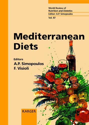 Mediterranean Diets - World Review of Nutrition and Dietetics 87 (Hardback)