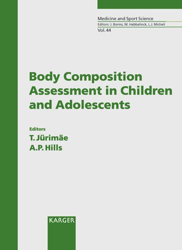 Body Composition Assessment in Children and Adolescents - Medicine and Sport Science 44 (Hardback)