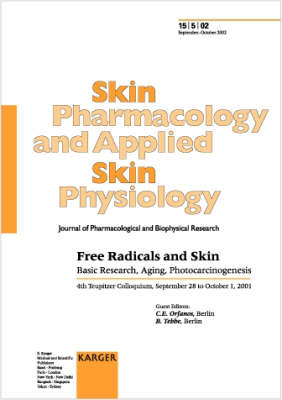 Free Radicals and Skin: Basic Research, Aging, Photocarcinogenesis 4th Teupitzer Colloquium, September-October 2001. Special Topic Issue: Skin Pharmacology and Applied Skin Physiology 2002, Vol. 15, No. 5 (Paperback)