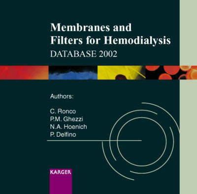 Membranes and Filters for Hemodialysis Database 2002 (CD-ROM)