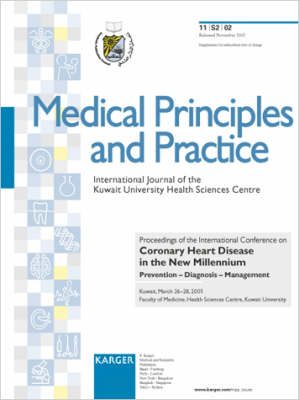 Coronary Heart Disease in the New Millennium: Prevention - Diagnosis - Management International Conference, Kuwait, March 2001: Proceedings. Supplement Issue: Medical Principles and Practice 2002, Vol. 11, Suppl. 2 (Paperback)