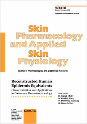 Reconstructed Human Epidermis Equivalents: Characterization and Applications in Cutaneous Pharmacotoxicology. Supplement Issue: Skin Pharmacology and Applied Skin Physiology 2002, Vol. 15, Suppl. 1 (Paperback)
