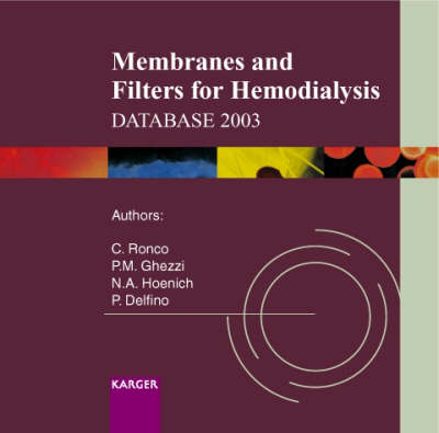Membranes and Filters for Hemodialysis Database 2003 (CD-ROM)