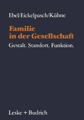 Familie in Der Gesellschaft: Gestalt--Standort--Funktion (Paperback)
