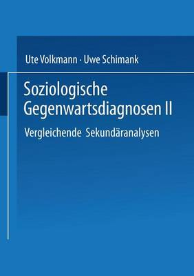 Soziologische Gegenwartsdiagnosen: II (Paperback)