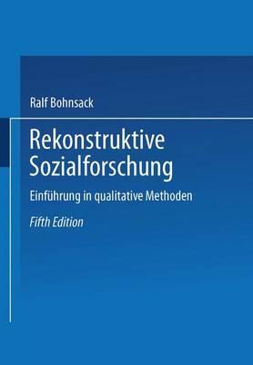 Rekonstruktive Sozialforschung (Paperback)