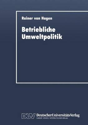 Betriebliche Umweltpolitik (Paperback)