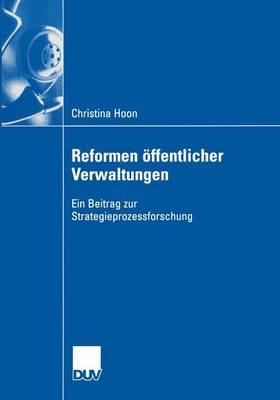 Reformen Offentlicher Verwaltungen (Paperback)