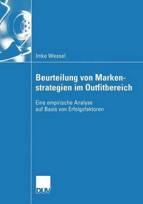 Beurteilung Von Markenstrategien Im Outfitbereich (Paperback)