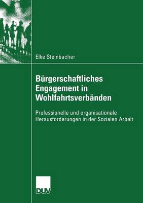 B rgerschaftliches Engagement in Wohlfahrtsverb nden: Professionelle Und Organisationale Herausforderungen in Der Sozialen Arbeit - Sozialwissenschaft (Paperback)
