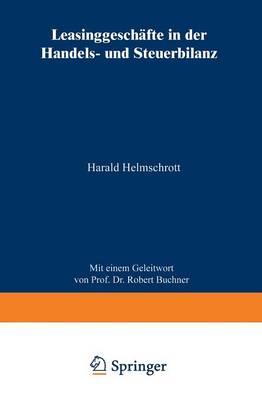 Leasinggesch�fte in Der Handels- Und Steuerbilanz (Paperback)