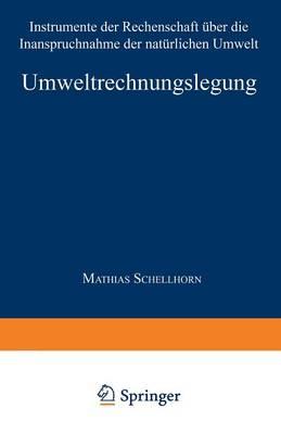 Umweltrechnungslegung: Instrumente Der Rechenschaft UEber Die Inanspruchnahme Der Naturlichen Umwelt - Gabler Edition Wissenschaft (Paperback)