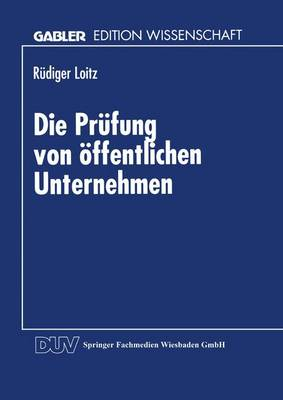 Die PR�fung Von �ffentlichen Unternehmen (Paperback)