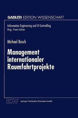 Management Internationaler Raumfahrtprojekte - Information Engineering Und IV-Controlling (Paperback)