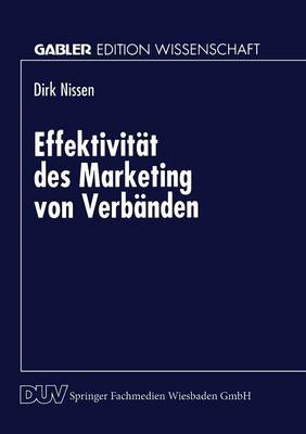 Effektivit�t Des Marketing Von Verb�nden (Paperback)