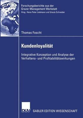 Kundenloyalitat (Paperback)