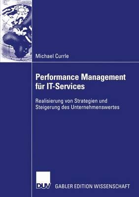 Performance Management fur IT-Services (Paperback)