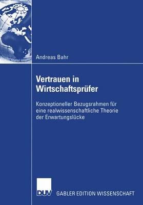 Vertrauen in Wirtschaftsprufer (Paperback)