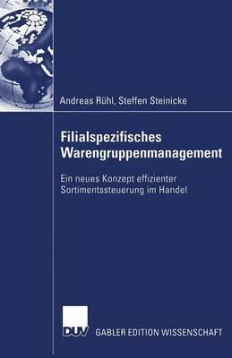 Filialspezifisches Warengruppenmanagement (Paperback)