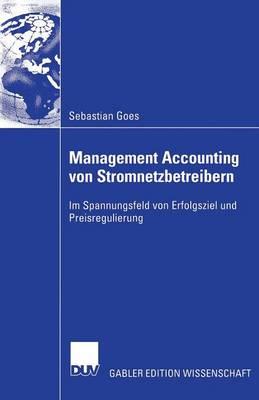 Management Accounting Von Stromnetzbetreibern (Paperback)