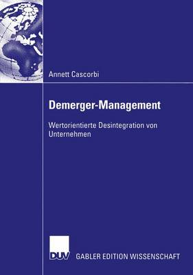 Demerger-Management (Paperback)