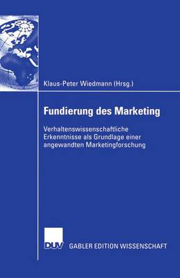 Fundierung Des Marketing (Paperback)