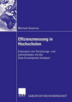 Effizienzmessung in Hochschulen (Paperback)