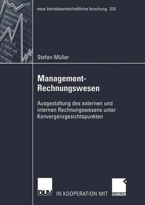 Management-Rechnungswesen - Neue Betriebswirtschaftliche Forschung (NBF) 310 (Paperback)