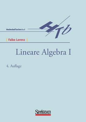Lineare Algebra I (Paperback)