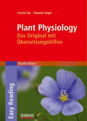Plant Physiology: Das Original Mit Ubersetzungshilfen - SAV Biologie (Hardback)