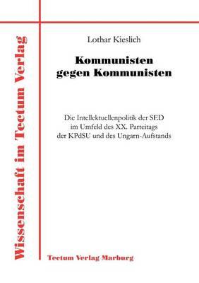 Kommunisten Gegen Kommunisten (Paperback)