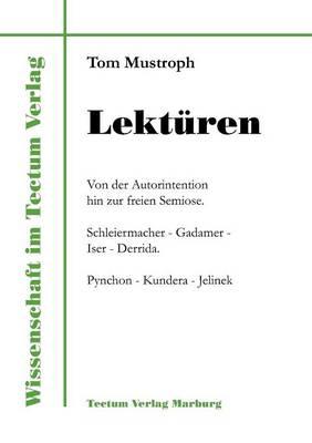 Lekt Ren - Wissenschaft Im Tectum Verlag (Paperback)
