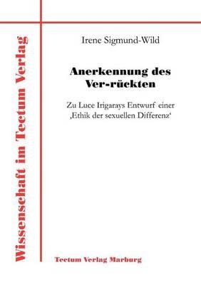 Anerkennung Des Ver-R Ckten (Paperback)