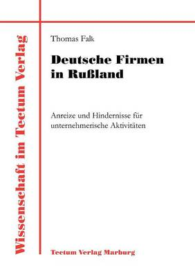 Deutsche Firmen in Ru Land (Paperback)