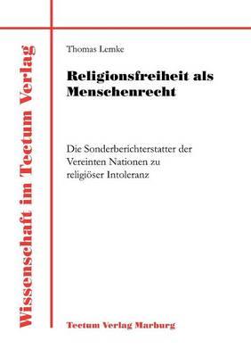 Religionsfreiheit ALS Menschenrecht - Wissenschaft Im Tectum Verlag (Paperback)